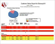 Customer Status Report